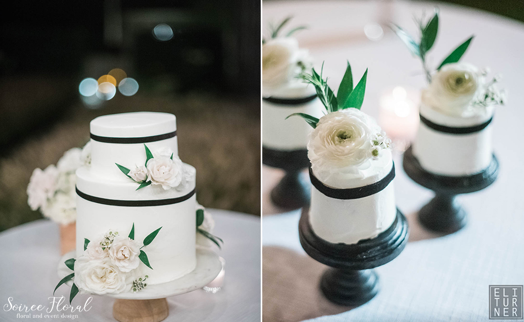 Green White and Black Wedding – Nantucket – Soiree Floral6