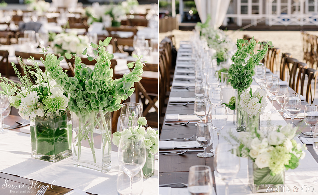 Green and White Nantucket Wedding – Soiree Floral – Zofia Photo7