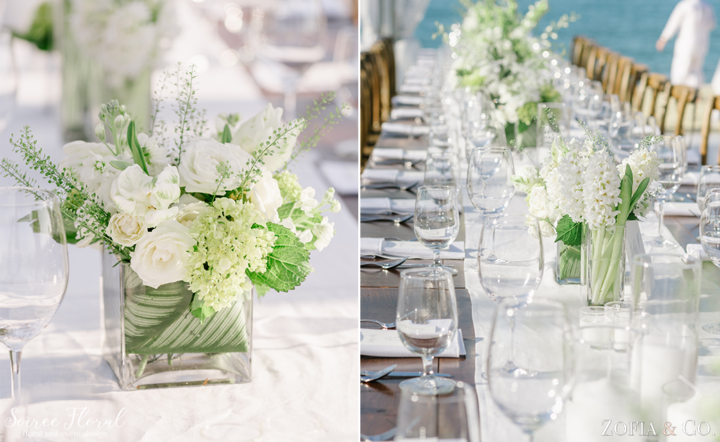 Green and White Nantucket Wedding – Soiree Floral – Zofia Photo8