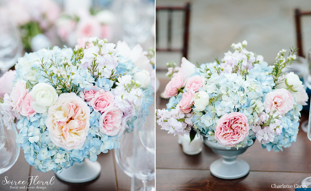Intimate Pink and Blue Nantucket Wedding 2