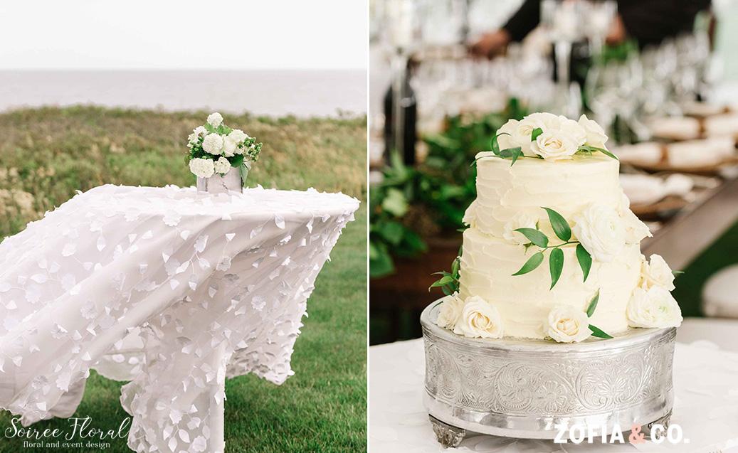 Nantucket Wedding Cake