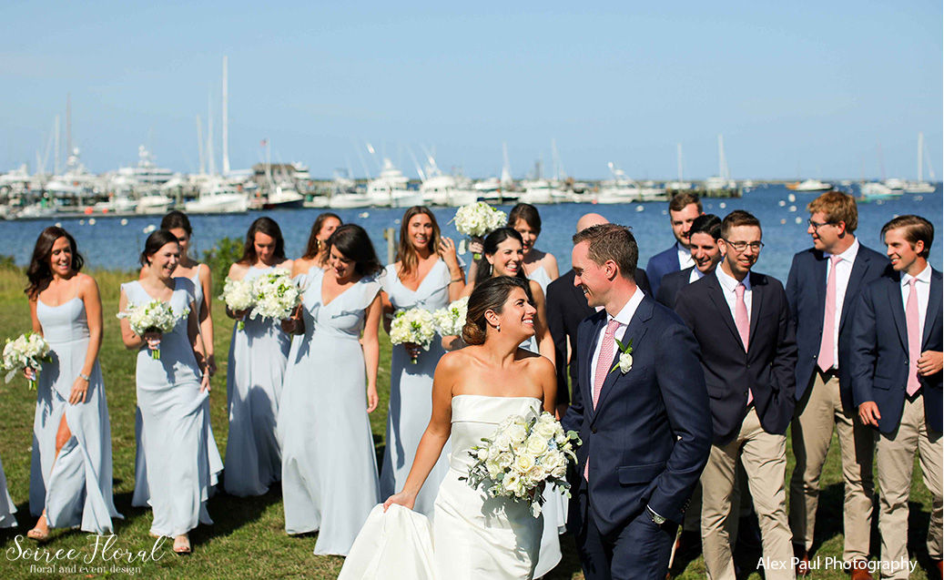 Nantucket Yacht Club Fall Wedding