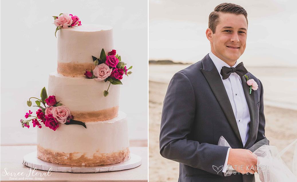 wedding cake groom