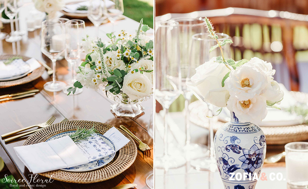 Nantucket Sconset garden wedding