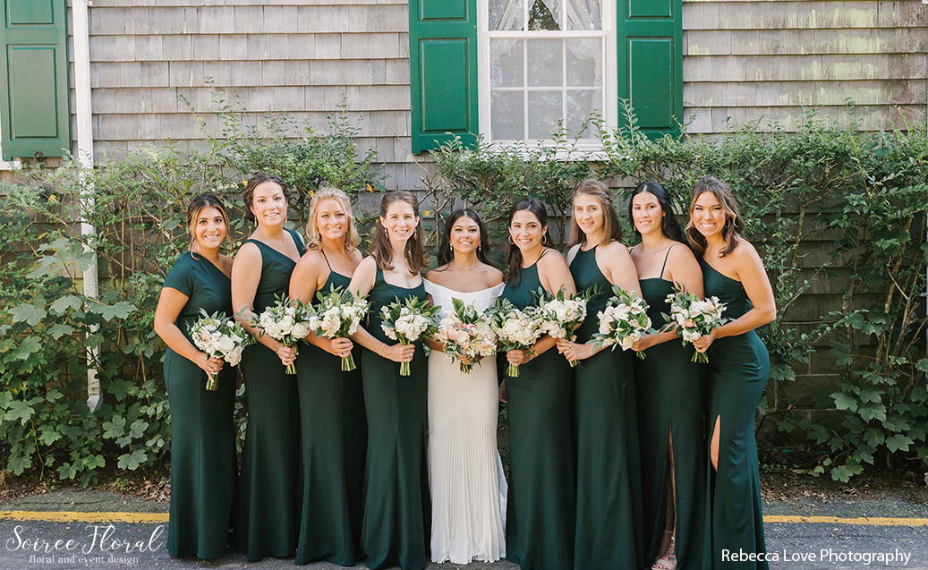 Nantucket bridesmaid dresses