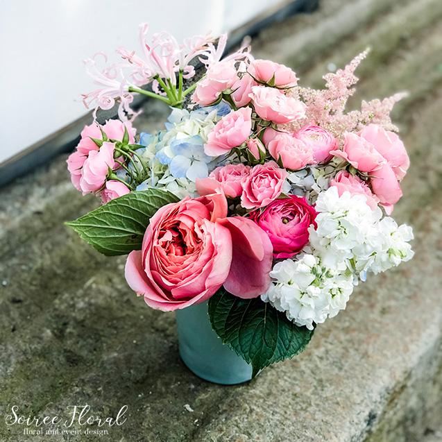 pink summer bouquet