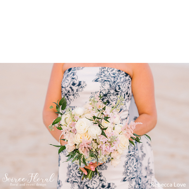 blush beach bouquet