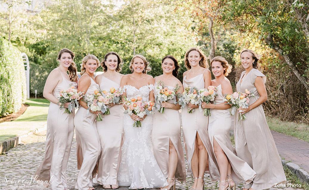 Microwedding Bridal Party