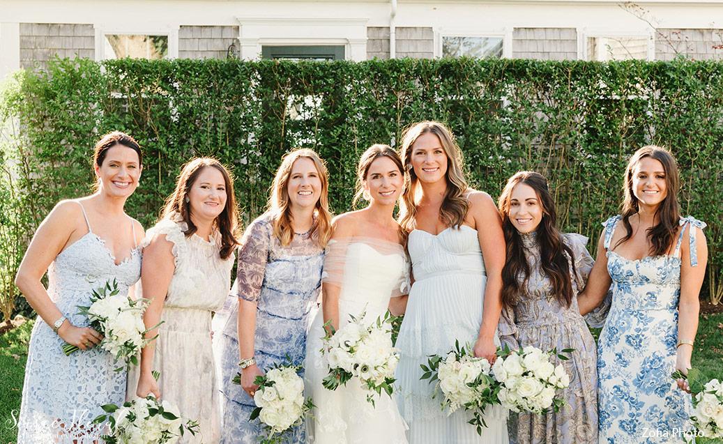 patterned-bridesmaid-dresses